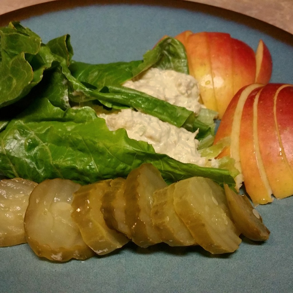 Chicken Salad Wraps with Homemade Mayonaise